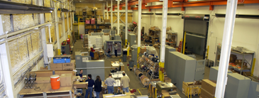 Overhead picture of Panelshop.com warehouse
